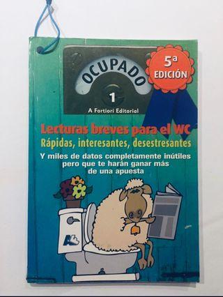OCUPADO 1 LECTURAS BREVES, PARA EL WC