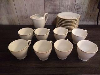 Juego de café porcelana alemana