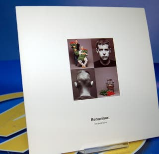 Disco LP vinilo - Pet Shop Boys Behaviour 1990