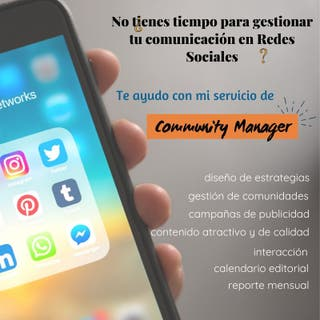 Redes sociales - Community Manager