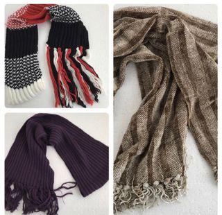 Vendo lote de bufandas y pañuelos de segunda mano por 15 € en Petrer ... 95d0ee0590d