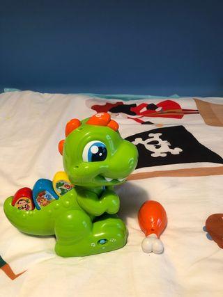 Juguete dinosaurio para bebé o niño
