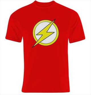 Camiseta FLASH superheroe DC COMICS-nueva