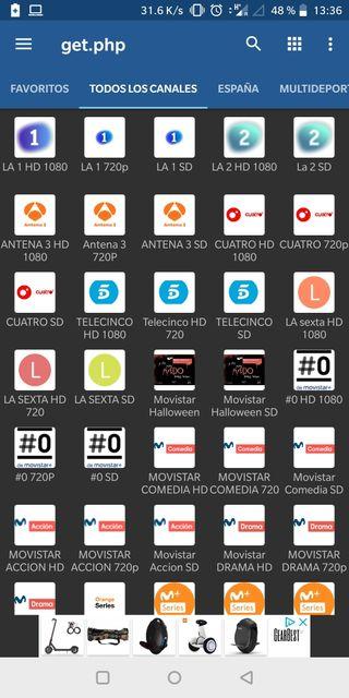 canales españoles