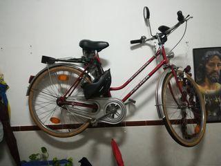 Bicicleta fischer freno contrapedal