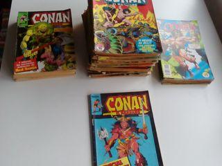 Lote de Conán, el bárbaro. 96 comics