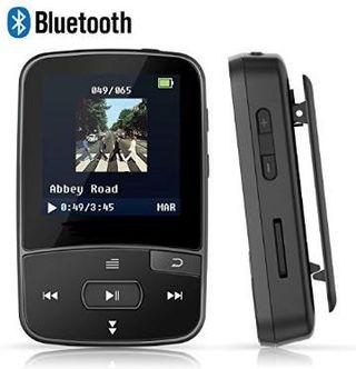 Reproductor MP3 8GB Bluetooth con clip