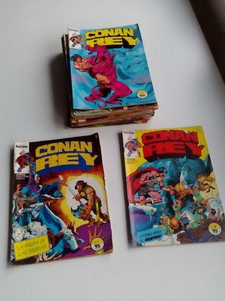 Conan Rey. 27 ejemplares