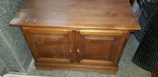 mueble tv , pino rustico