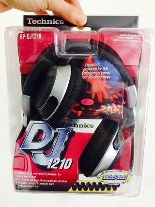 Auriculares Technics DJ-1210