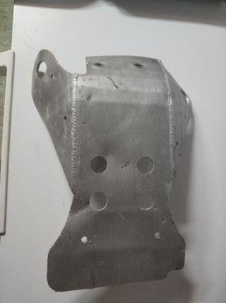 cubre carter aluminio ktm original