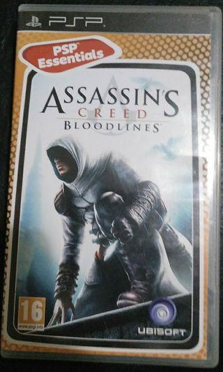 juegos PSP Assassins