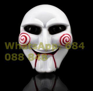 máscara careta disfraz saw