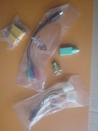 cables, adaptadores y convertidores