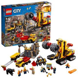 60188 Lego City Mining Mina: Área de expertos