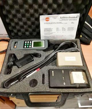 Analizador de Gases Tesco 325-tengo 8 unidades
