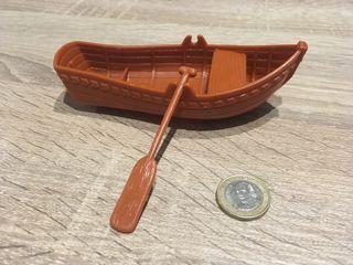 Barca con remo