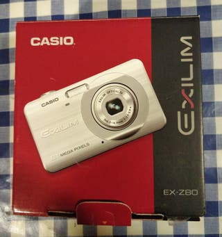 CAMARA FOTOS CASIO EXILIM EX-Z80