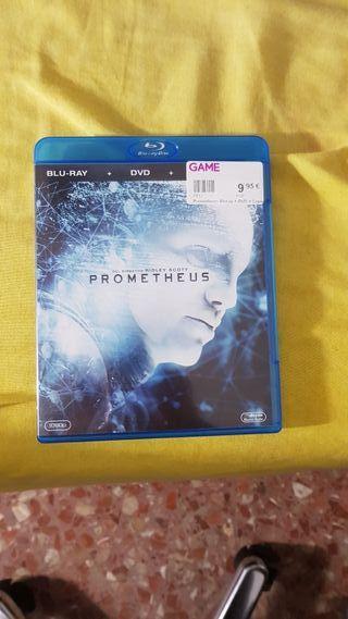 Prometheus Blu-Ray DVD
