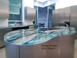 Get Best Quality Aqua Quartz Kitchen Worktop in UK