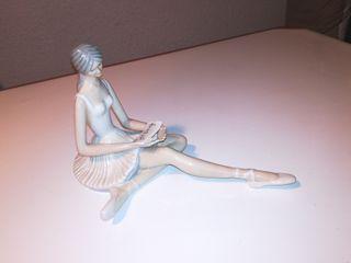 Bailarina de ballet porcelana