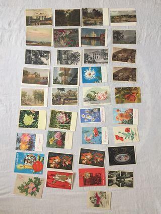 Postales de URSS años ' 60-70