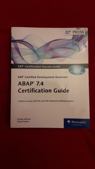 "Libro ""ABAP 7.4 Certification Guide"""