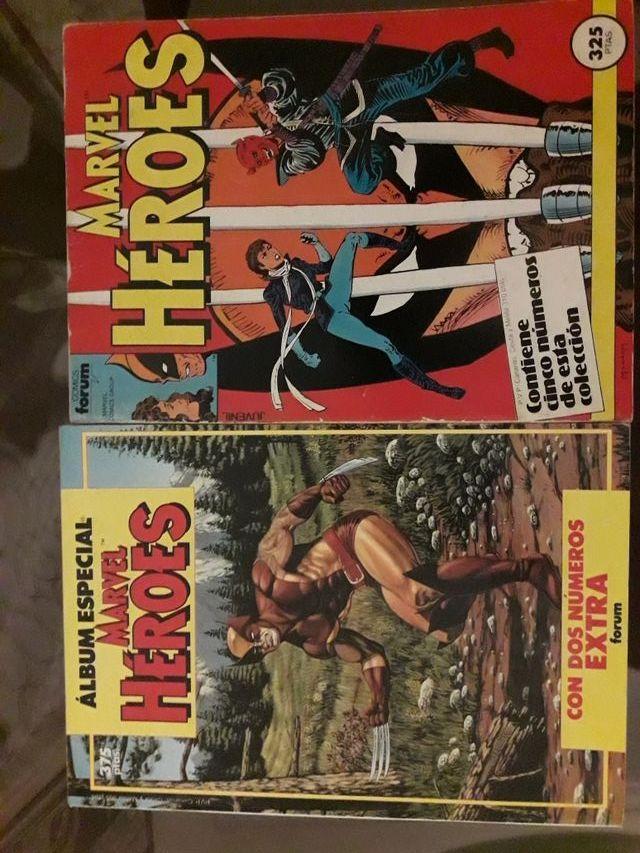 Tomos comics Marvel