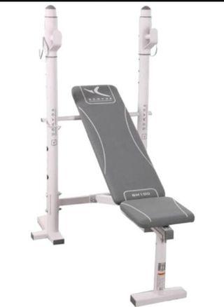 Banco musculacion reclinable, BM100 de Decathlon
