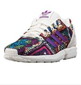 Zapatillas Adidas zx flux flores.