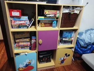 estanteria para juguetes