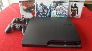 PlayStation 3, 232 GB.