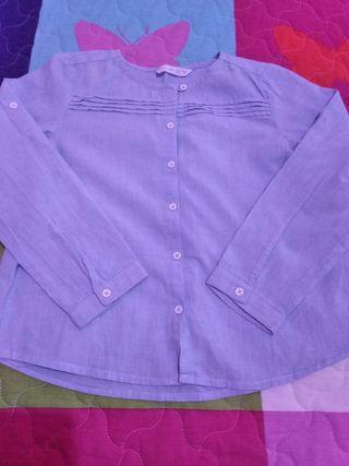 camisa niña 5-6