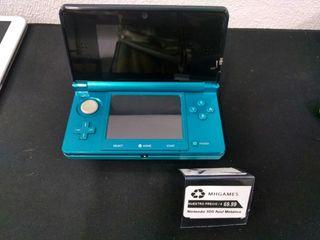 Nintendo 3DS Azul Metalizada