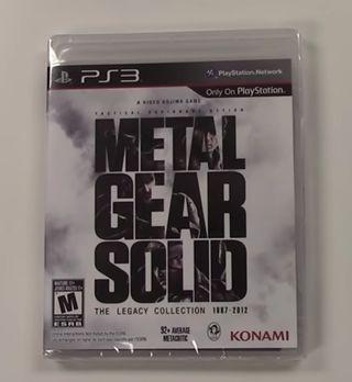 Metal Gear The Legacy Collection PS3 PRECINTADO