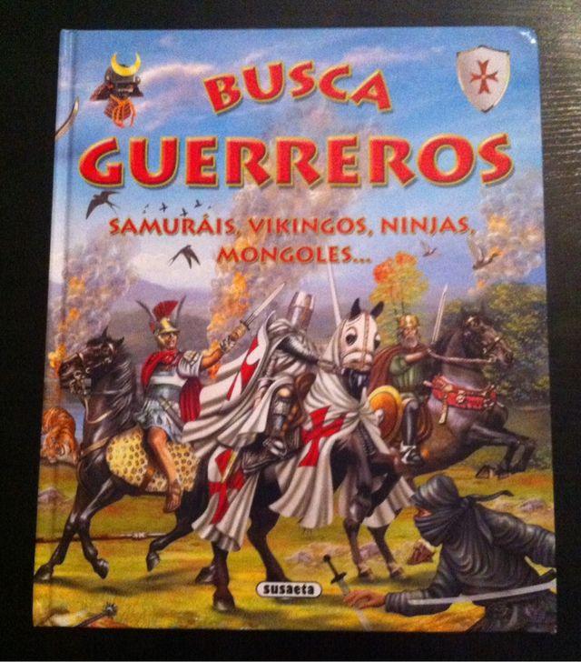 ANTIGUO LIBRO BUSCA GUERREROS