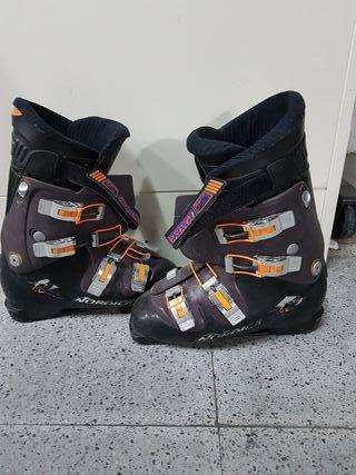botas esqui nórdica