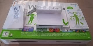 consola wii +wii fit plus