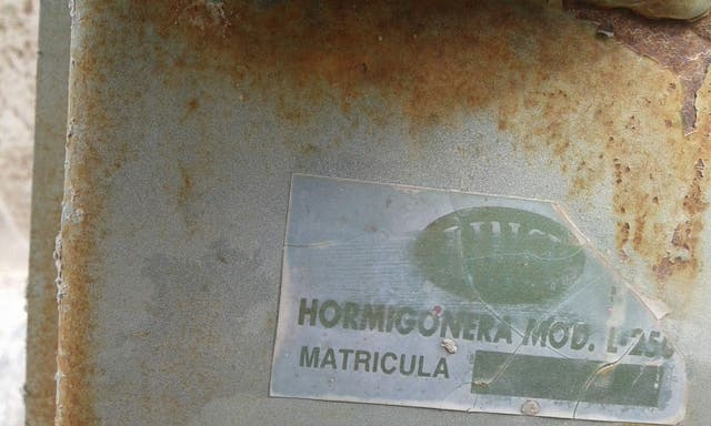 Hormigonera monofasica 220V