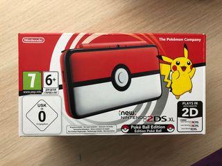 Nintendo 2DS XL pokeball + juego ENVIO GRATIS