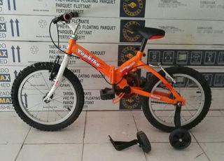 "Bicicleta plegable infantil 16"""
