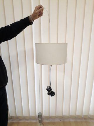 Lámpara techo péndulo