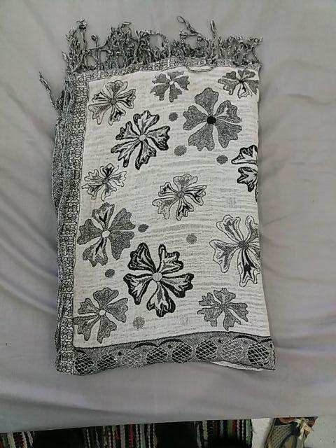 Pañuelo - Bufanfa Reversible blanco y negro