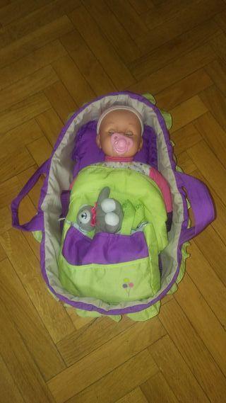 Cuna y bebe