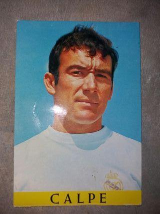POSTALES ANTIGUAS JUGADORES REAL MADRID