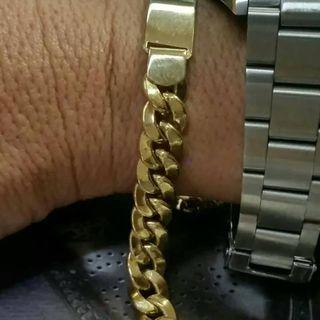 9a80bff684e5 Pulsera de oro esclava de segunda mano en la provincia de Madrid en ...
