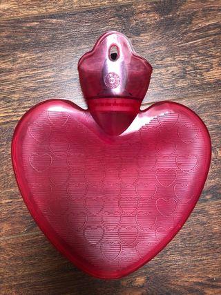 Bolsa agua corazon
