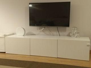 3 modulos Ikea Besta 60x40x40cm cada uno