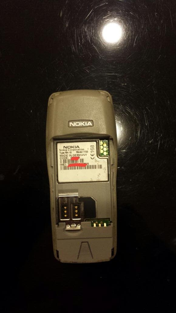 Nokia 1100 Made in Germany second hand for 50 € in Porto in