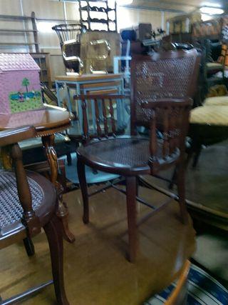 muebles madera maciza antiguedades